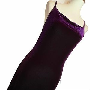 Jump apparel vintage nwt purple gown size 10
